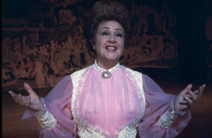 Happy birthday Sarah Brightman! Here\s a pic of Ethel Merman.