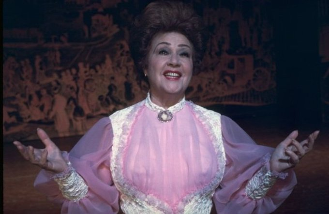 Happy birthday Sarah Brightman! Here\s a pic of Ethel Merman.