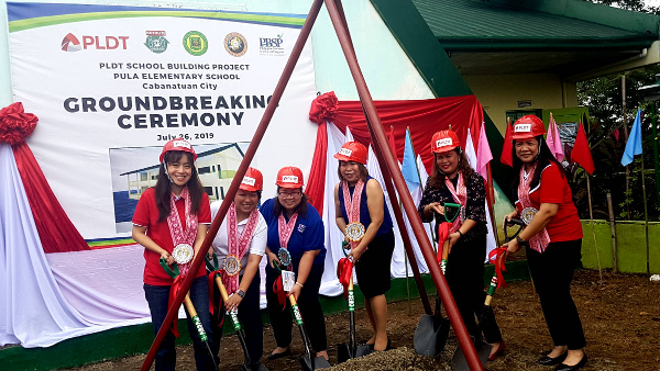 PLDT, in partnership with @PBSPorg, recently started the construction of a four-classroom building for Pula Elementary School in Brgy. Pula, Cabanatuan City. http://bit.ly/2N0Itrz