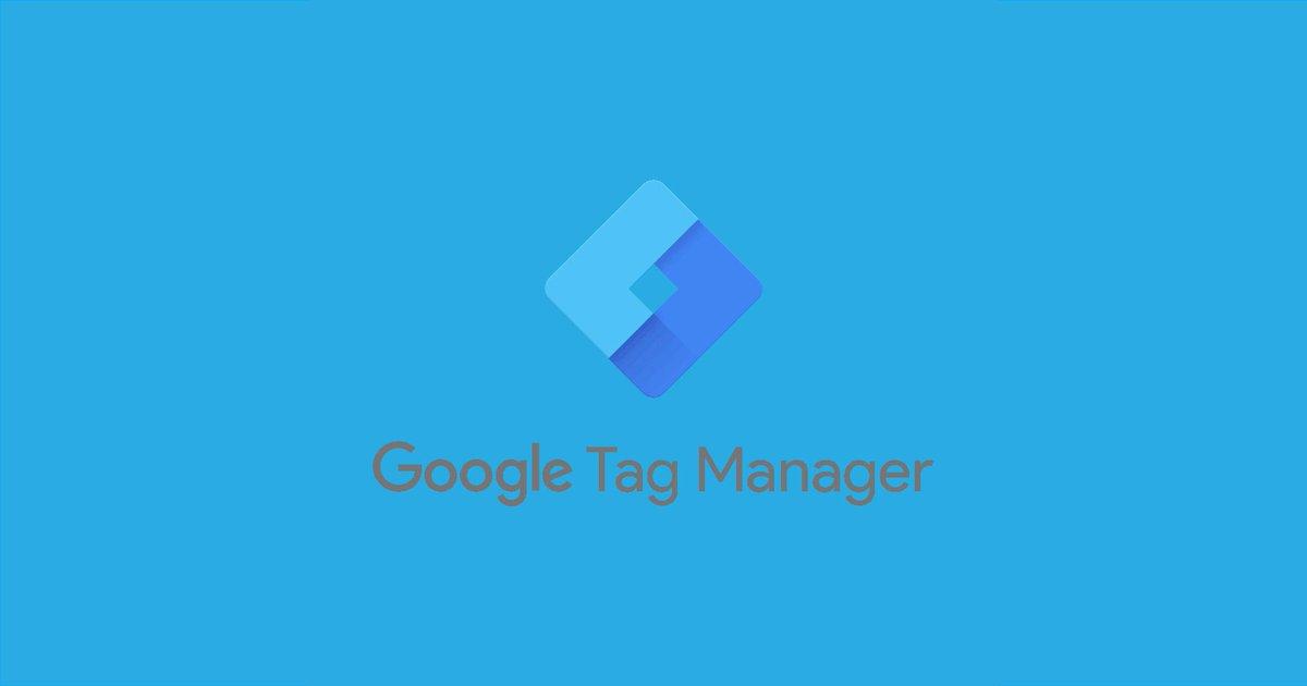 googletagmanager hashtag on Twitter