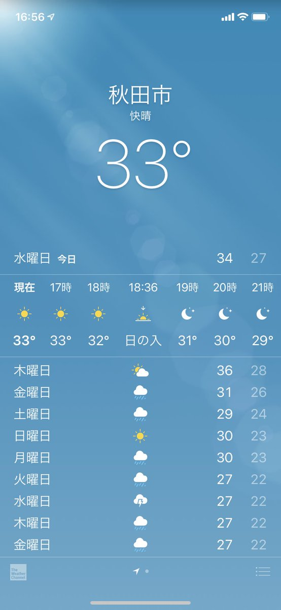 …。これ、もう夕方の今の秋田市の気温です。フェーン現象の影響でお盆の怪談話くらい恐ろし〜いことになってます?朝イチでうちの子のデカイ病院※定期そこからのお墓まいり。ヤツは勧めてもあまり水分を補給しないので今日は特別午後ティー無糖(ヤツ好物)…すごいね、ぐびぐびだ??