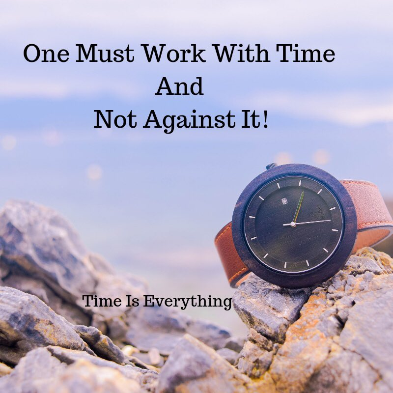 One Must Work With Time and Not Against It  #personaldevelopment #visualiseandwin<br>http://pic.twitter.com/gDdW4ckweA