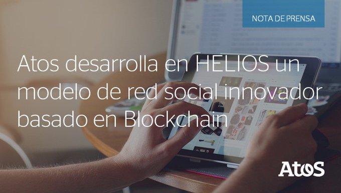 Atos desarrolla una nueva red social innovadora basada en #Blockchain para garantizar la...