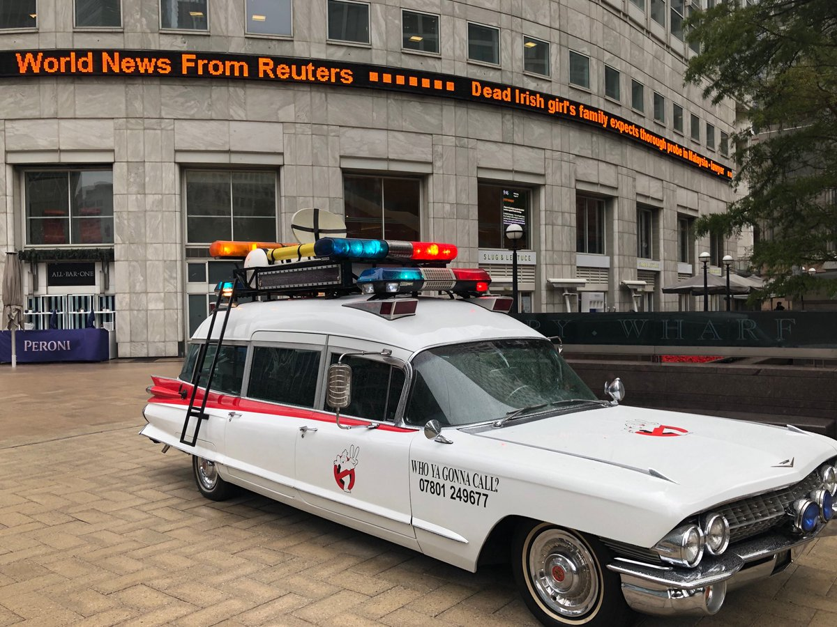 """No discussion needed.... """"Who you gonna call?"""" If you want the best, fastest and most trusted news in the world... #Reuters @Reuters @ReutersUK @specialreports #WorkingAtTR"""