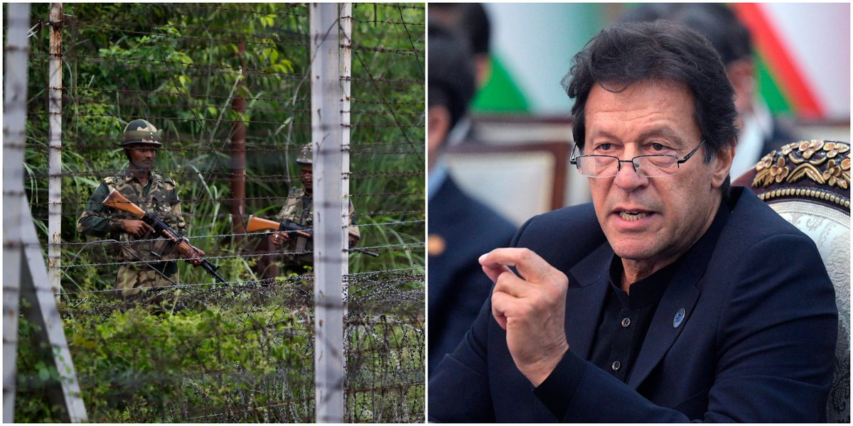 Pakistani PM reiterates support for residents in Indian section of Kashmir bit.ly/2MYUxcO