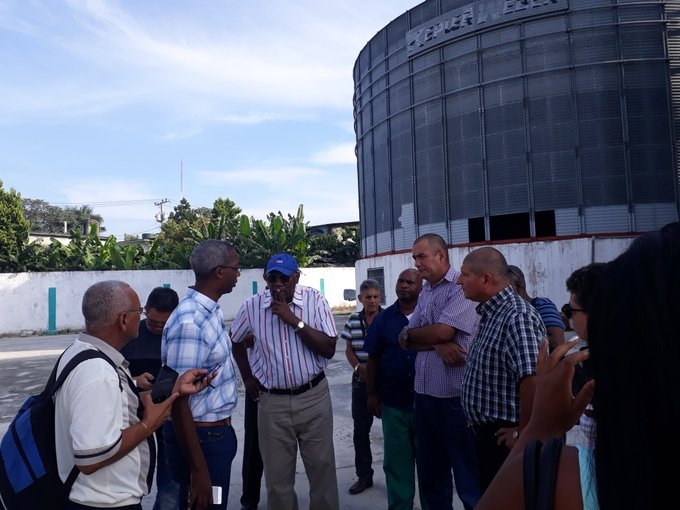 Chequea Valdés Mesa mantenimiento de silos para almacenamiento de maíz