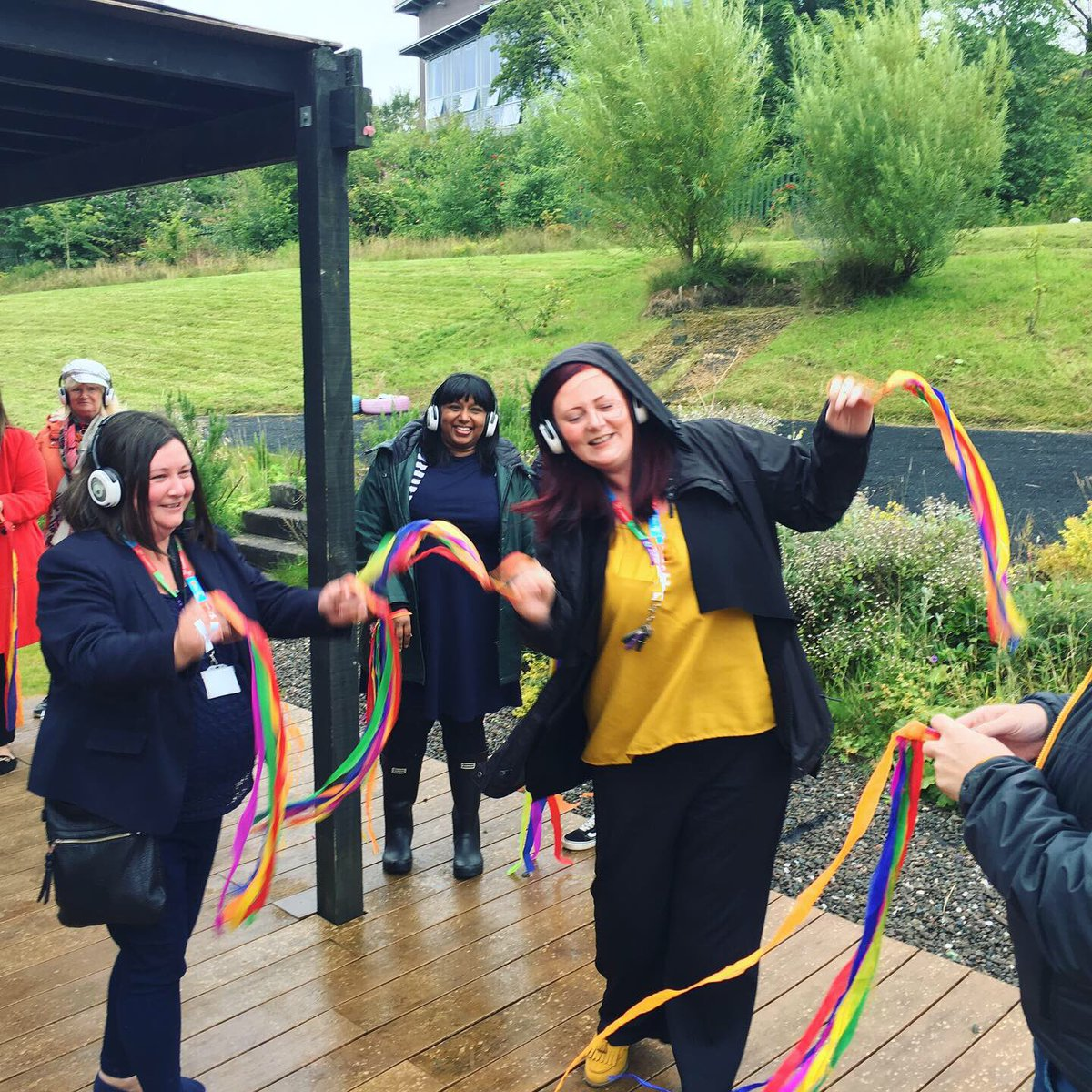 We had a brilliant day today at Branston Courts Annual BBQ, we danced (despite the rain), ate well and celebrated the team who just completed the west highland way! Well done everyone  #positivechange #bbqweather<br>http://pic.twitter.com/cRjX5TZ7W2