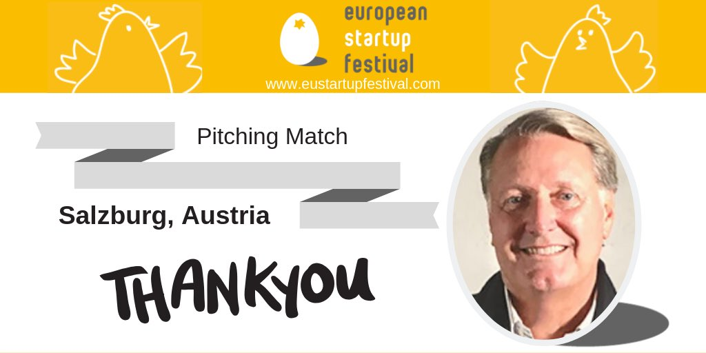 Thank you again to Jeff Burton for being a #judge at our Pitching Match in Salzburg, Austria.👉Co-founder of Electronic Arts and serial American startup entrepreneur👉Board member of several European startups👉Co-founder of HolodeckVR in Munich