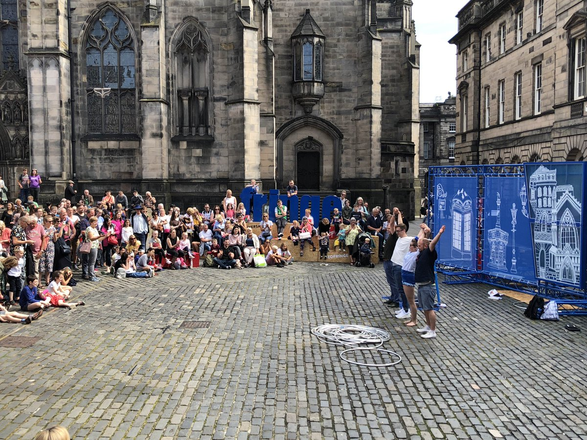 One minute you're watching a show and the next you're a star at the @edfringe. Head up to the Royal Mile and visit the Virgin Money Street Events... You never know what's going to happen.  #MakeYourFringe <br>http://pic.twitter.com/sc7DfFqC2F