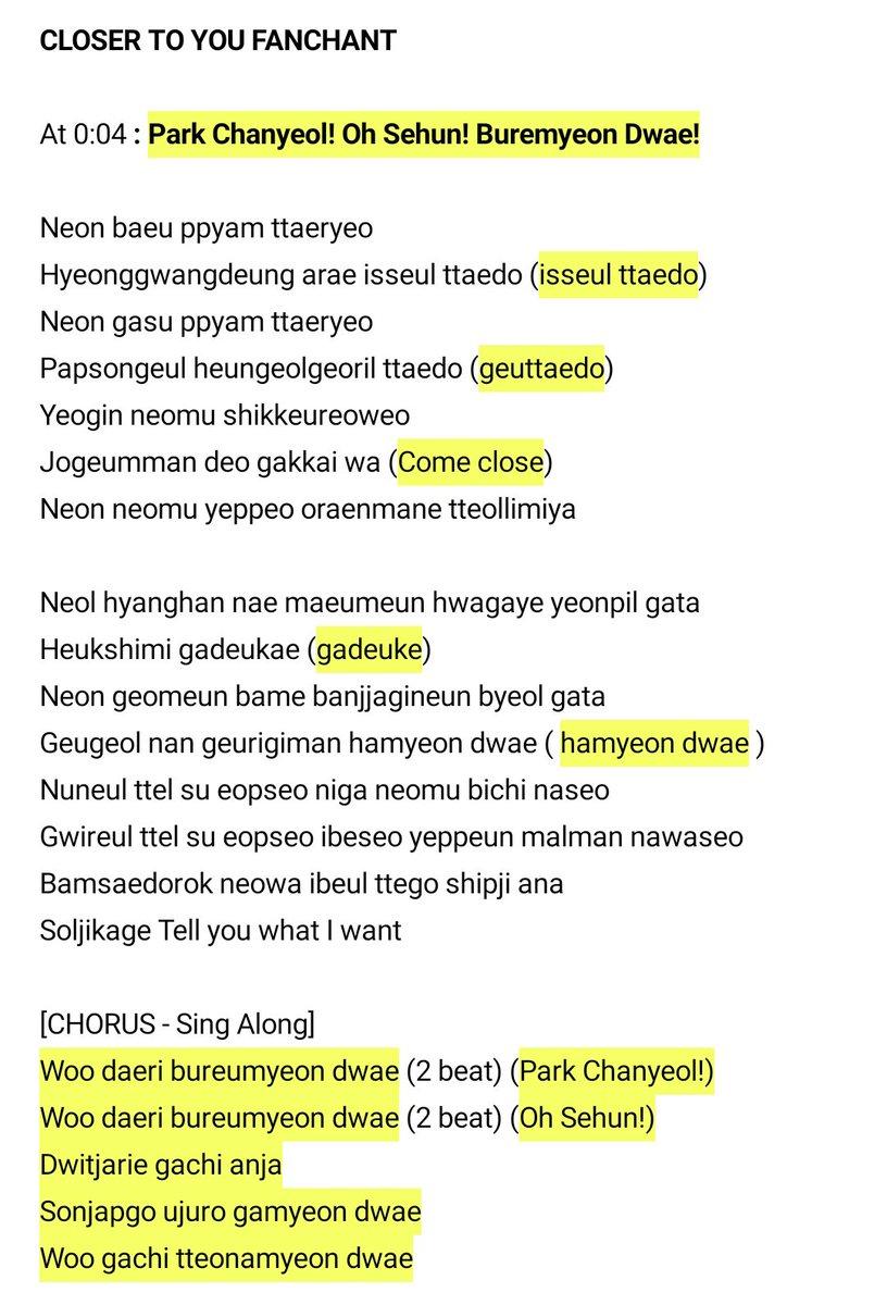 Exo Fanchant Names