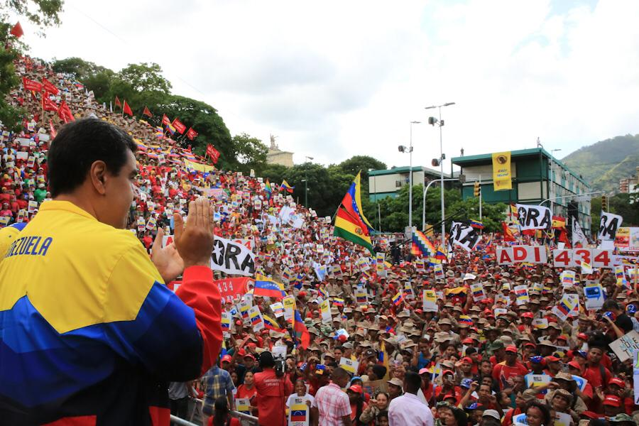 Ratificamos al mundo que Venezuela está preparada para resistir, avanzar y vencer el bloqueo criminal del gobierno racista de Donald Trump. Es una batalla por la Paz de la Patria y el futuro de nuestra irrenunciable independencia.