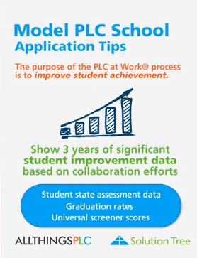 Does your school have what it takes to be a Model PLC? Learn more and apply by visiting bit.ly/2UTd62M