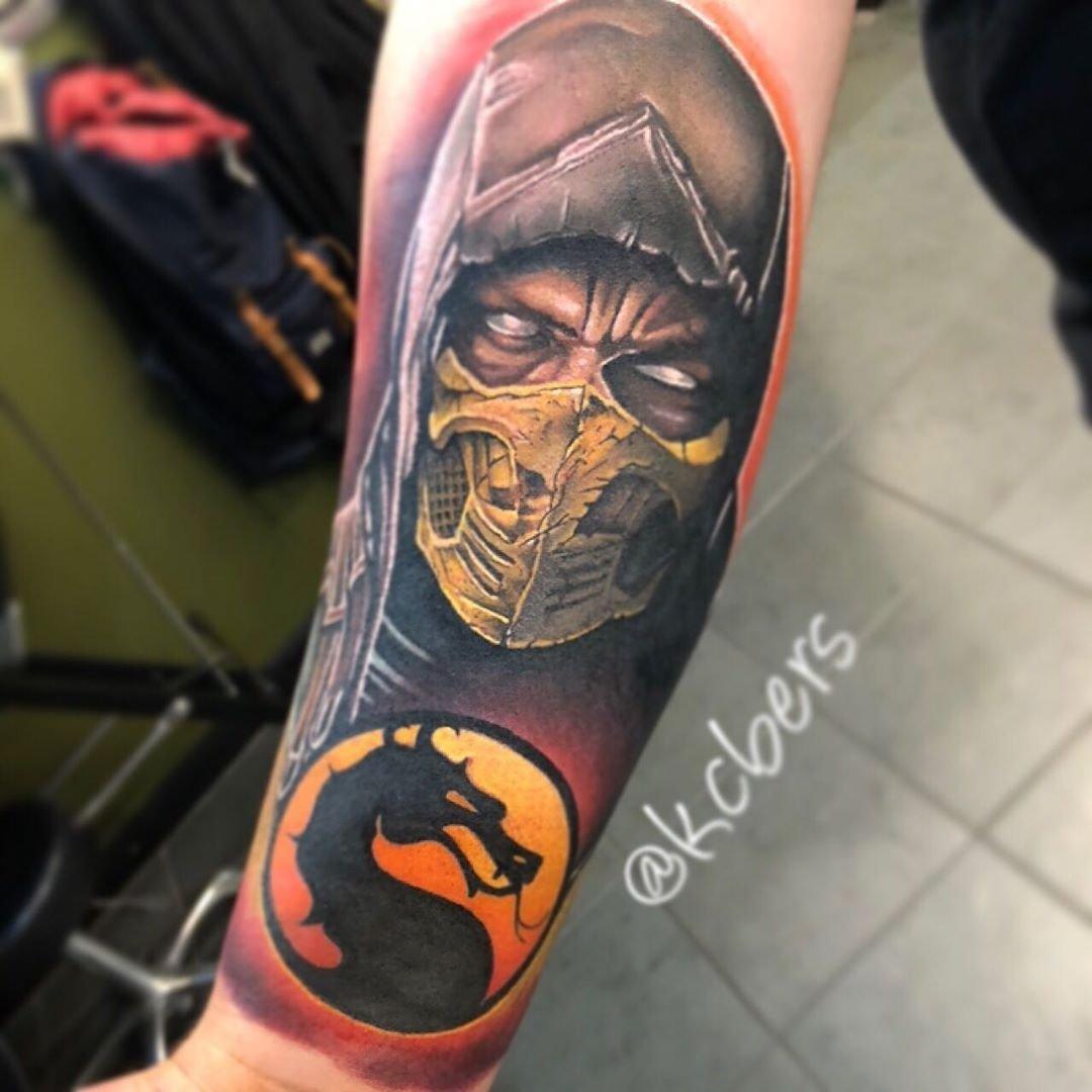 Northside Tattooz On Twitter Scorpion Portrait By Kara Chambers