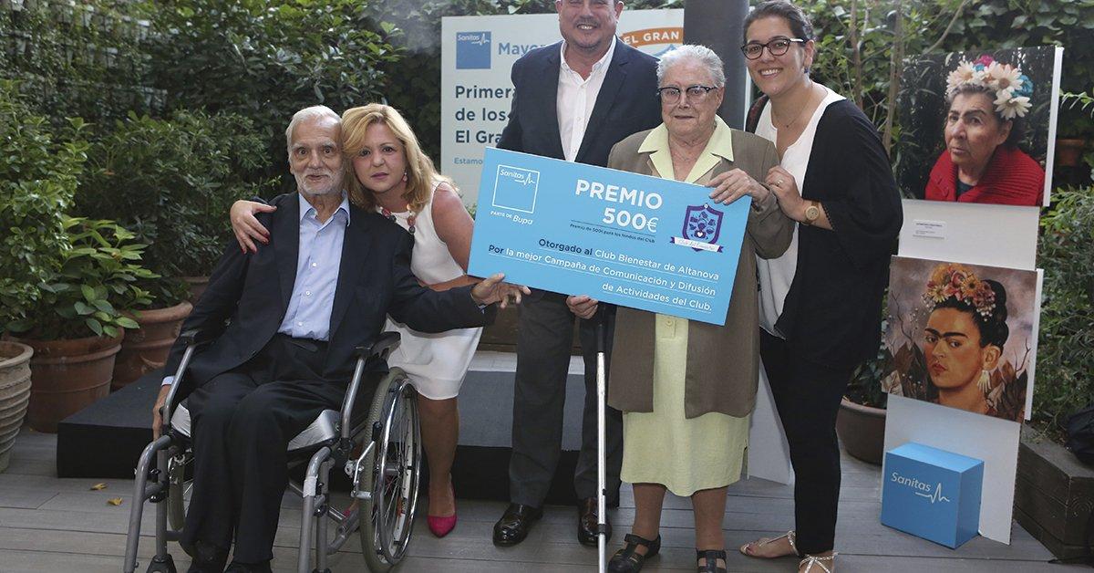 test Twitter Media - 🏆Los Premios El Gran Club de @sanitas Mayores premian a los clubes sociales creados por los residentes de nuestro asociado  ¡Conoce cómo se fomenta el envejecimiento activo de las #PersonasMayores a través de esta iniciativa!  https://t.co/LwUHb3sqHp https://t.co/PHrdmeWYKj