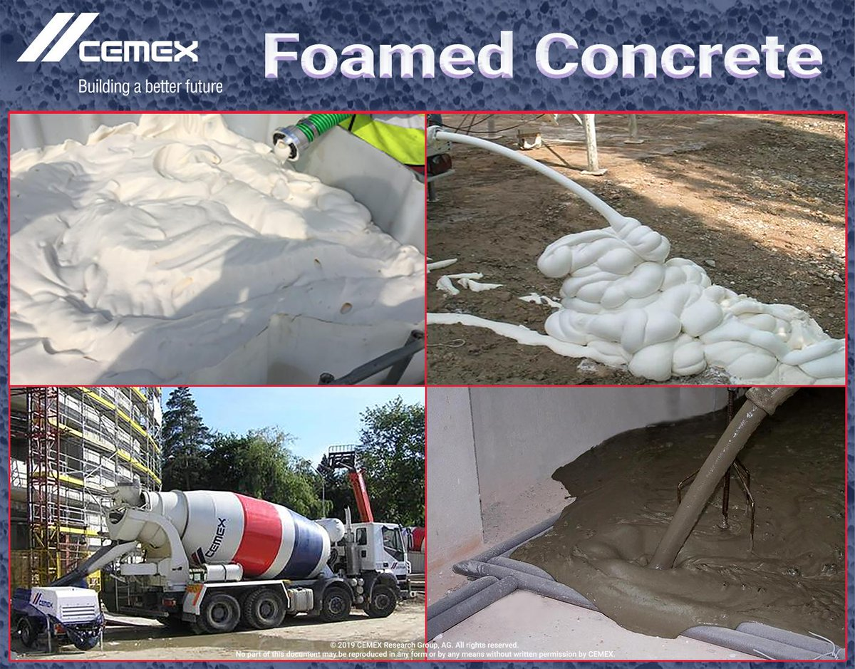 cemexfoamedconcrete hashtag on Twitter