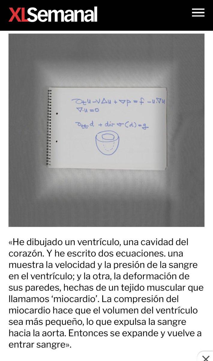 Las matemáticas del corazón.