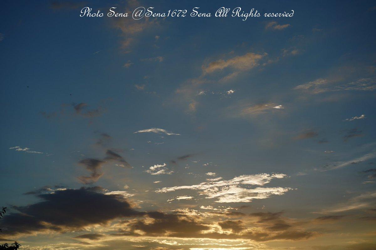 The sunset sky that feels the peace that calms the heart ✨✨ #sky #skylovers #sunesets  #sunsetlovers #beautifulview #Tokyo #f4f #l4l #写真好きな人と繋がりたい  #イラスト好きな人と繋がりたい  #創作クラスタさんと繋がりたい #空が好き #初心者レイヤーさんと繋がりたい https://t.co/tkWuNBVlGD