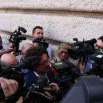 Image for the Tweet beginning: Governo, l'assemblea congiunta dei gruppi