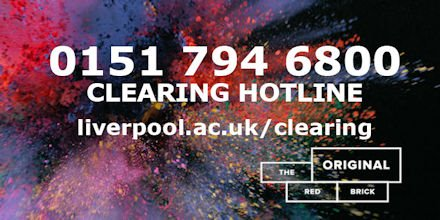 Fingers crossed for tomorrow's A level results - we know it's a nerve-racking day!😖 Our #clearing hotline opens at 6.30am tomorrow (Thursday 15 August). For now, check out our course listings online: bit.ly/2OUXY6U #Alevels #Resultsday2019 #LivOriginal #HelloLivUni