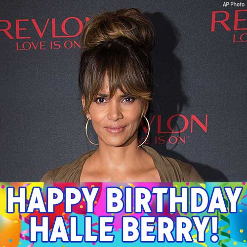 Happy Birthday to Oscar-winning actress Halle Berry!
