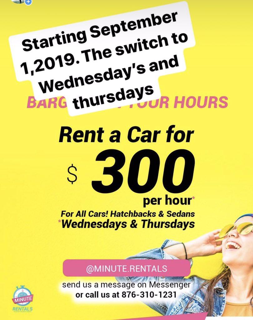 Minute Rentals Jamaica (@MinuteRentals) | Twitter