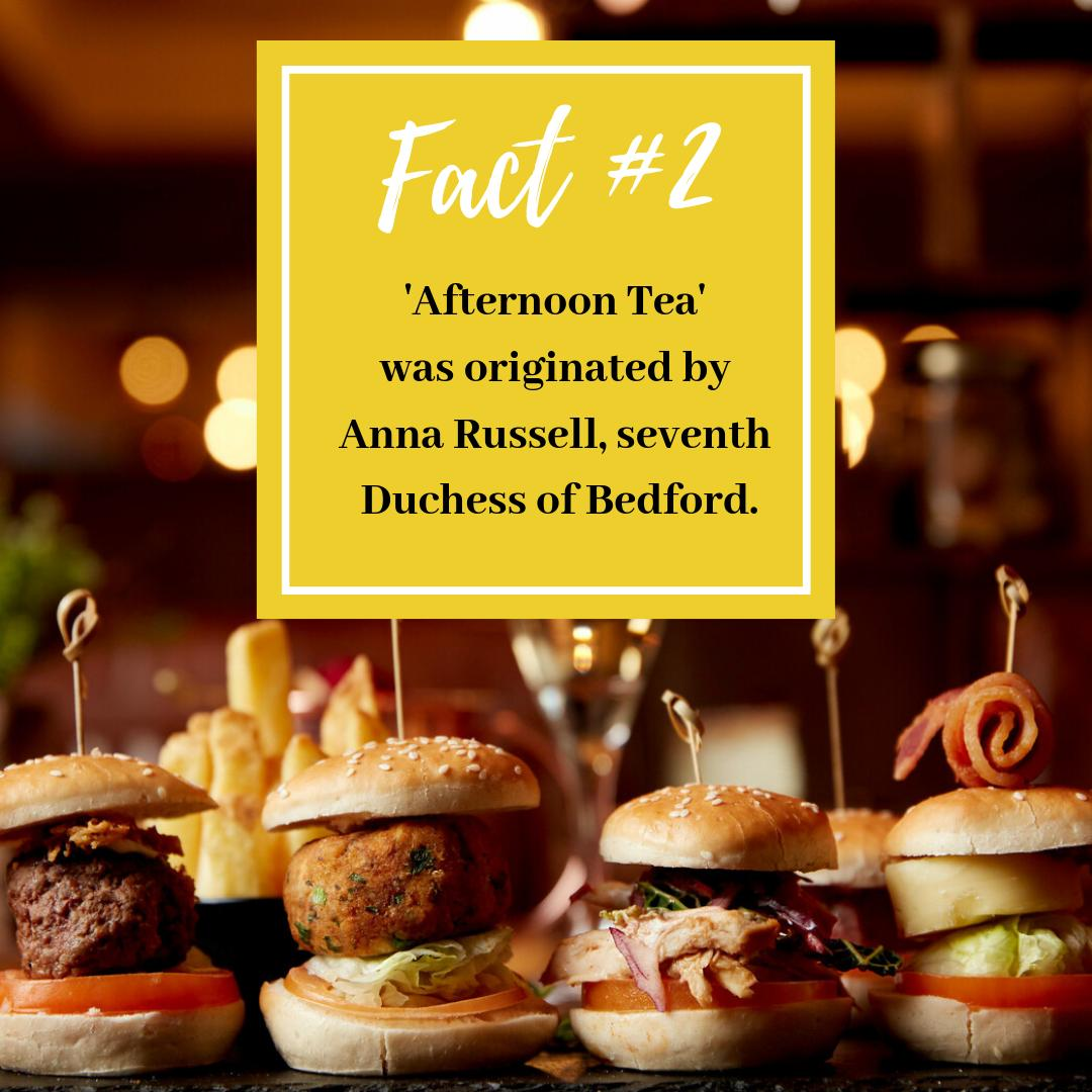 #AfternoonTeaWeek Fact #2 ☕ Yes, it's thought Duchess Russell used to struggle with the afternoon slump (think we all know that feeling!) and an afternoon tea kept her hunger pains at bay until supper! Get 20% off by entering TEA20 at checkout http://bit.ly/2Z1X8Jt
