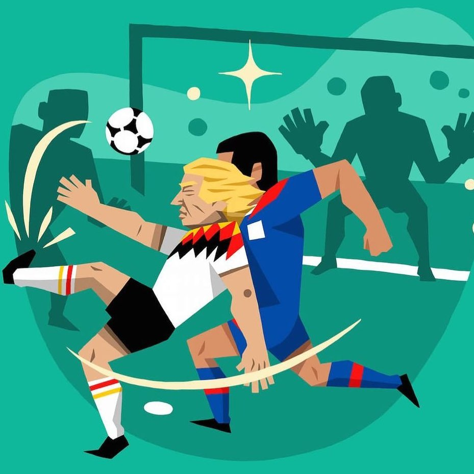 Here's @J_Klinsmann working his magic in 1994   From  http:// worldatyourfeet.co      #football #calcio #fussball #futbol #THFC #COYS #ForzaInter #notforeveryone #MiaSanMia #illustration #soccer #90sfootball #retrofootball #BookIllustrationOfTheDay #books #klinsmann #illustration<br>http://pic.twitter.com/Muu0XIJWNt
