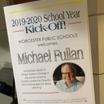 Image for the Tweet beginning: Getting ready for @MichaelFullan1 #WPSlearns