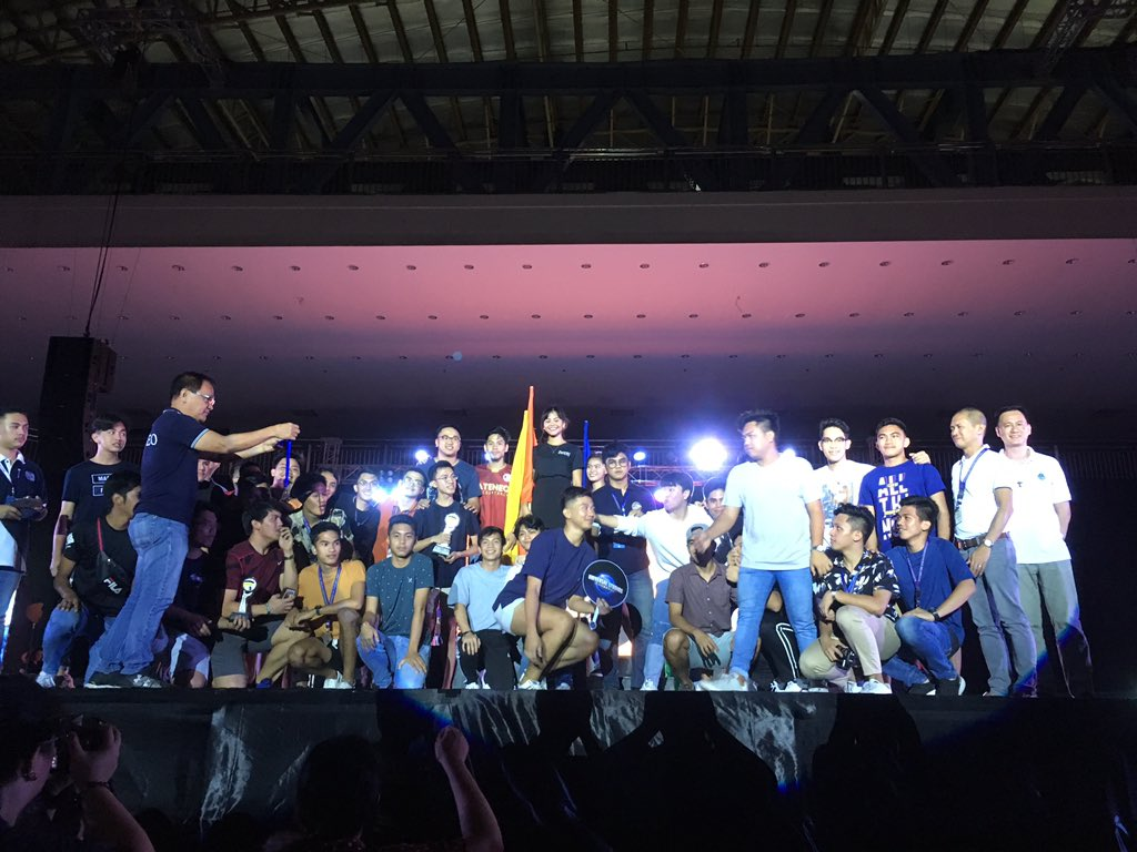 Volleyball Men | 2nd Runner Up #UnleashTheVenom 🐍 #PalarongAtenista2019