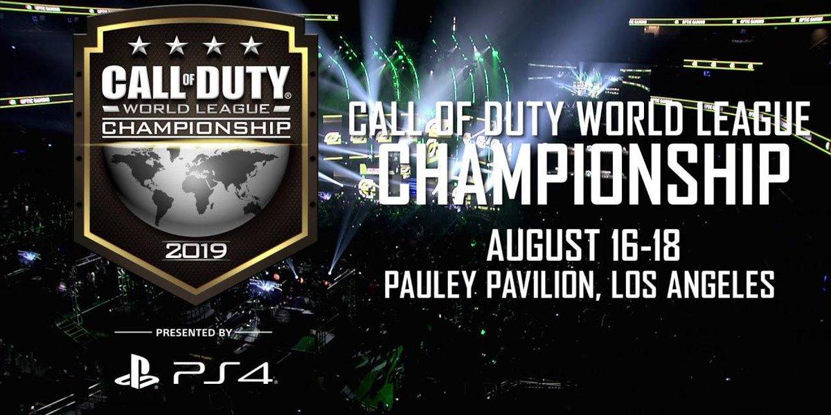 2019 Call of Duty World League Championship