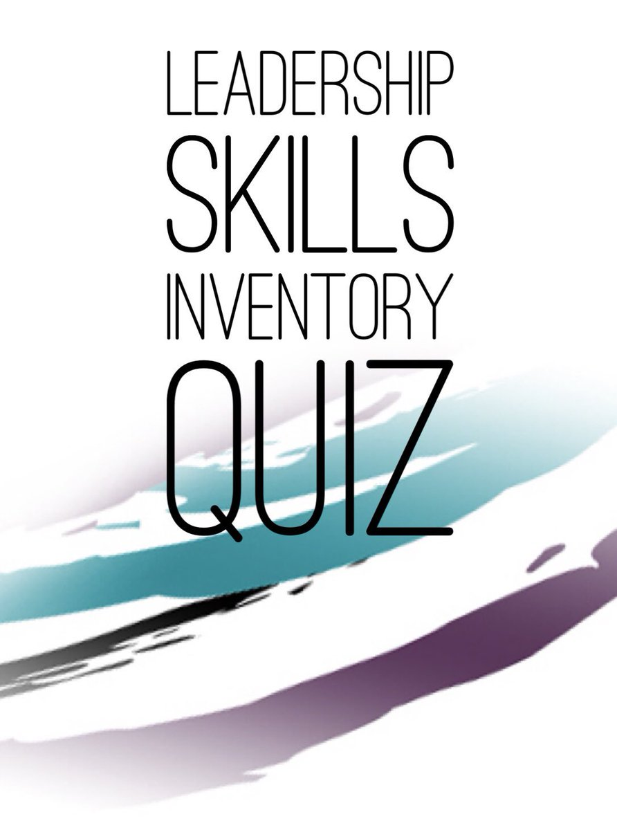 Leadership Skills Quiz *Gain recognition as a leader *Learn how to effectively hold people accountable *Learn to influence & motivate *Lead better than the rest so you standout *Get promoted! #recognition #skills #leader #leaders https://t.co/8I5JE6tFEl #leadershipdevelopment
