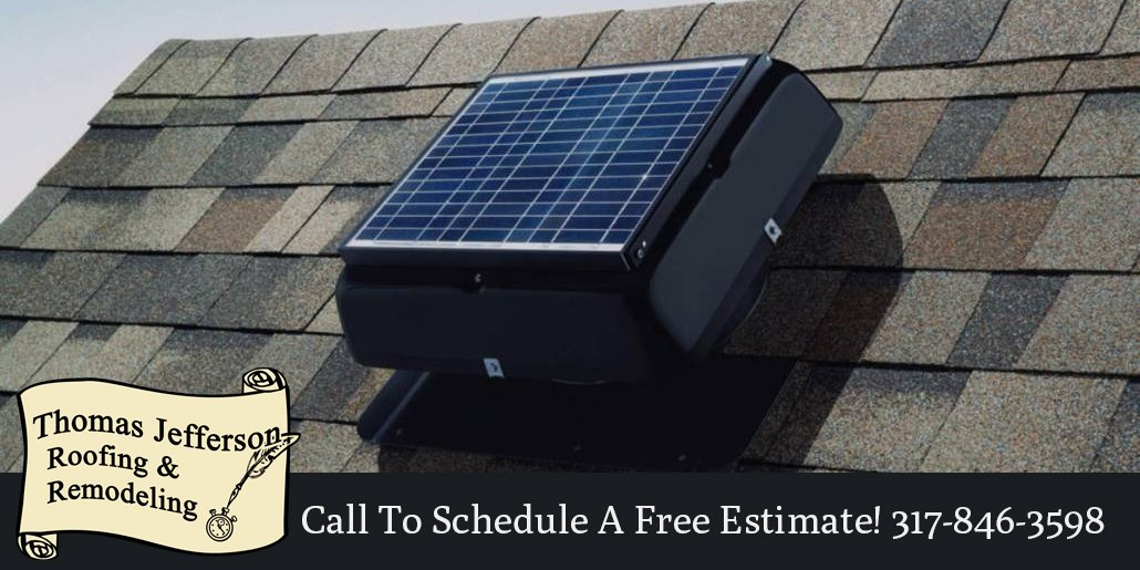Increase house value with a modern and convenient solar fan experience.  #roofing #remodeling #solarfan #solaratticfan #indianapolisroofing #Indianapolis #Westfield #Carmel #Fishers #Zionsville #Noblesvillepic.twitter.com/bpNfuAwsgc