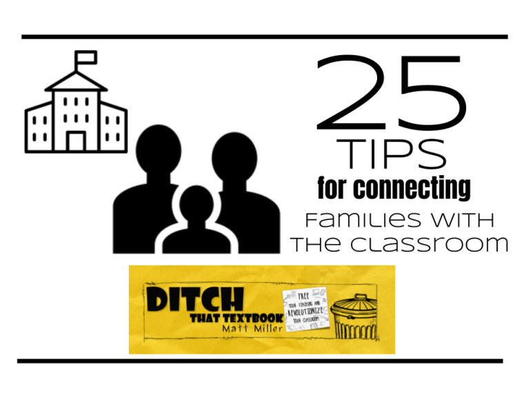 25 tips for connecting families with the classroom ditchthattextbook.com/2018/05/11/25-… #ditchbook #edtech
