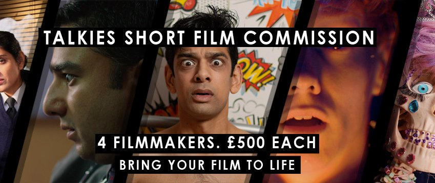 FILMMAKERS! Looking to get your next project off the ground? Got an idea for a new short film? The @TalkiesCC commission is OPEN for ideas! Deadline Sep 15th: talkies.org.uk/short-film-com…