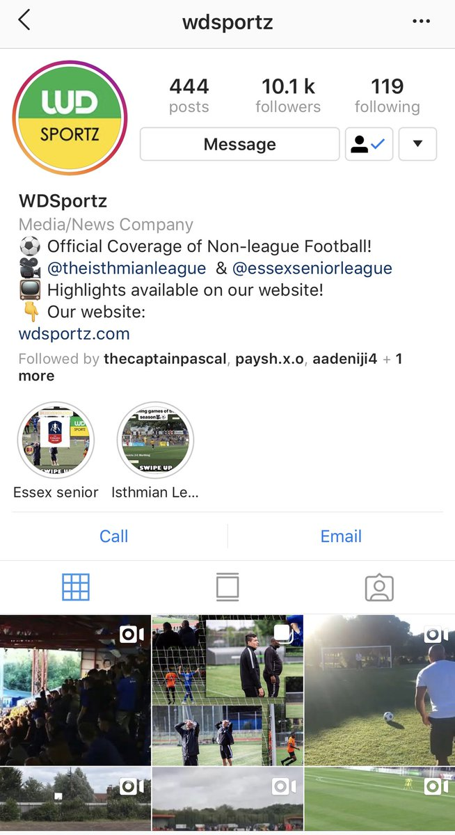 Follow us on Instagram to stay up to date with the latest feeds  Instagram: WDSportz -  https:// instagram.com/wdsportz?igshi d=1p2aw9jnbh98o   …   @EssexSenior @IsthmianLeague  #nonleaguefootball #nonleague #football #soccer #englishfootball #sports #efl #semiprofootball #sportsnews #nonleaguegoals<br>http://pic.twitter.com/jhT2tIj06n