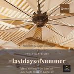 Image for the Tweet beginning: #LASTDAYSOFSUMMER features MYKONOS by Quorum