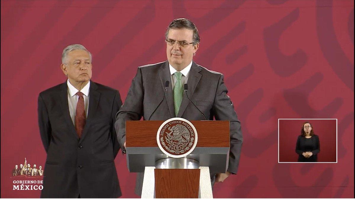 Confirma Marcelo Ebrard que 79 migrantes mexicanos detenidos en Mississippi aceptaron apoyo de consulados y otros 7 no la aceptaron. Afirma que hay varios abogados contratados y un sistema de alerta para ser eficaces en el apoyo de mexicanos.EN VIVO: http://bit.ly/2MYbrZj