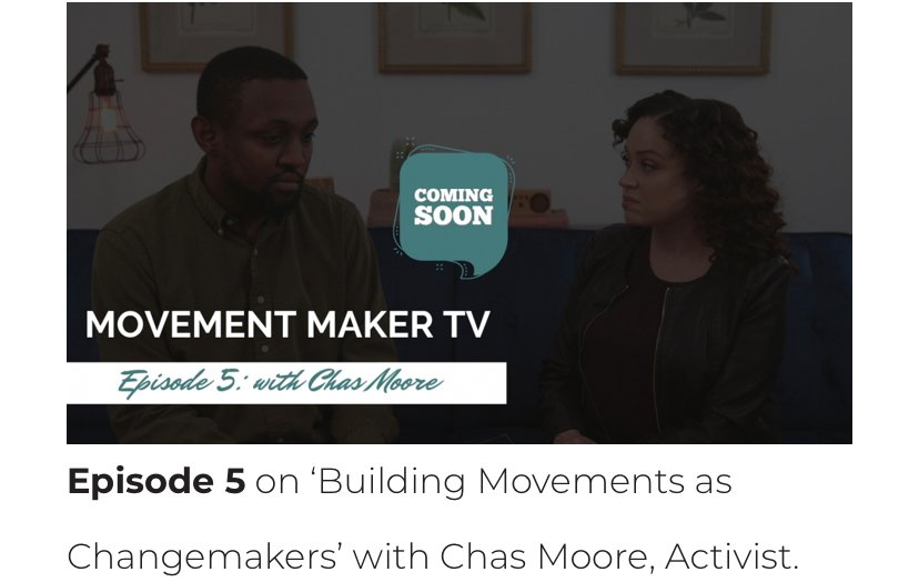Got up early this morning to finish edits of #MovementMakerTV's first season. Mark my words...the episode with #AustinJusticeCoalition's #ChasMoore is pic.twitter.com/0Um9uySI72