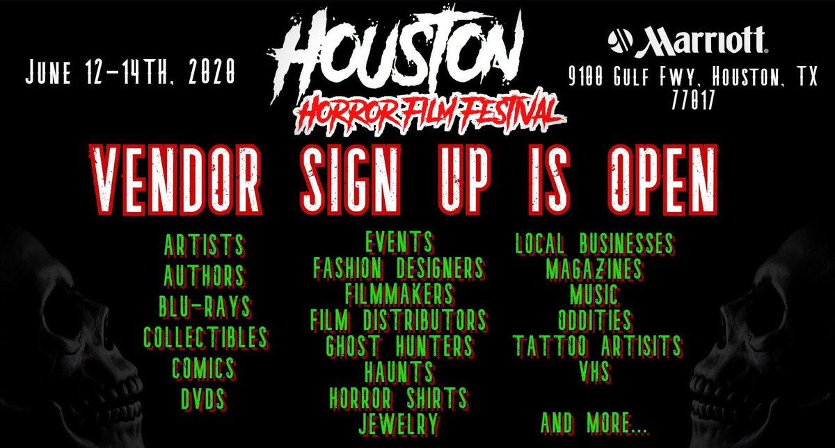 HoustonHorrorFF - HoustonHorrorFilmFest Twitter Profile