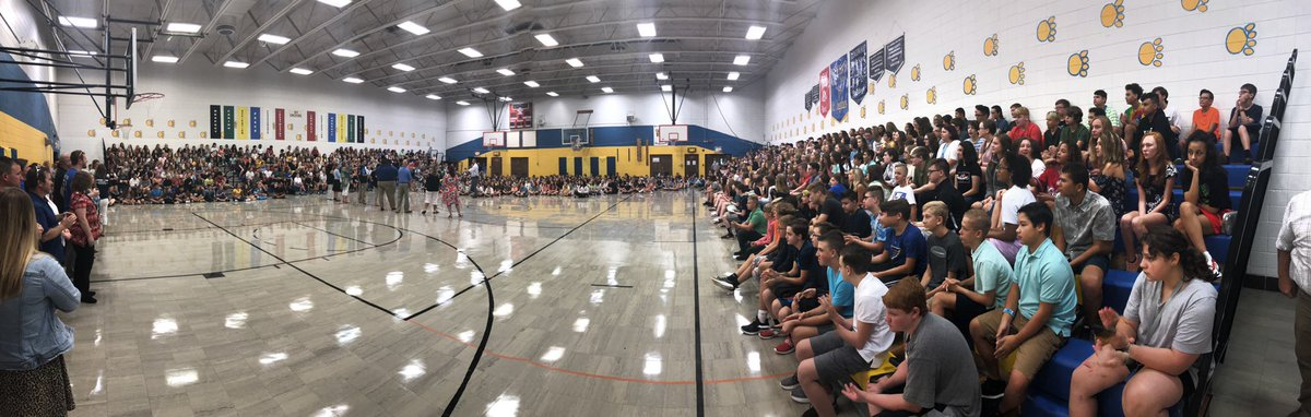 Looks like everyone is here! We are ready to rock this school year!