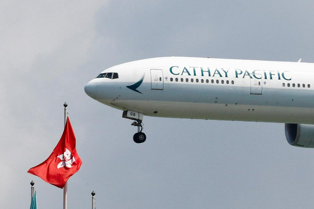 Cathay Pacific says has fired two pilots over Hong Kong protests https://reut.rs/2OVxouC