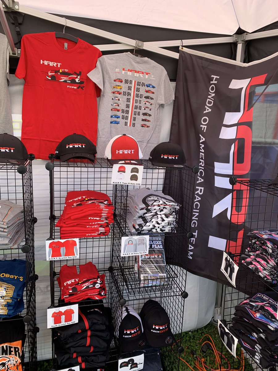 We are sad that @HARTracingteam can't make it, but we will be there @VIRNow with their gear so you can support them while they are away! twitter.com/hartracingteam…