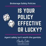 🎲 Never gamble with your personal safety.  Preparation is 🔑. #Realtor #Safety #RealtorSafety