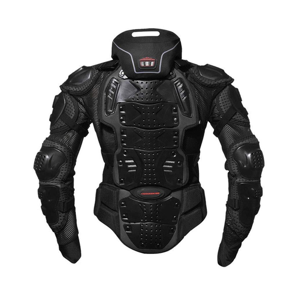 ネックブレース付き上半身プロテクター!首・肩・肘・胸・背中・腰を、しっかりガード!これは強そう~!!😆