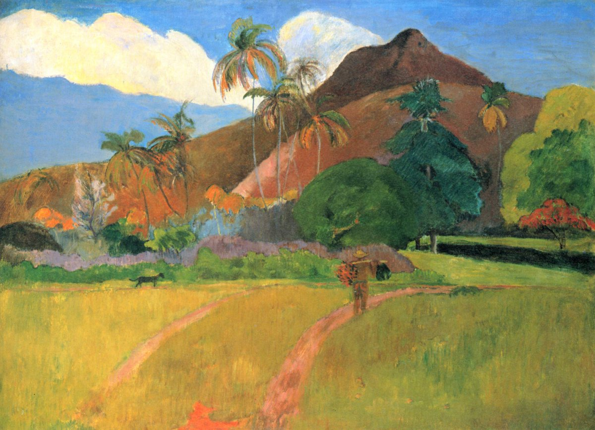 There are still a handful of tickets left for our talk, Gauguin: Arrival in the South Seas, Friday at 1pm. Learn about how Gauguin established his unique style whilst cut off from Europe in Tahiti and the Marquesas Islands. Book now: ashmolean.org/event/gaugin-s…
