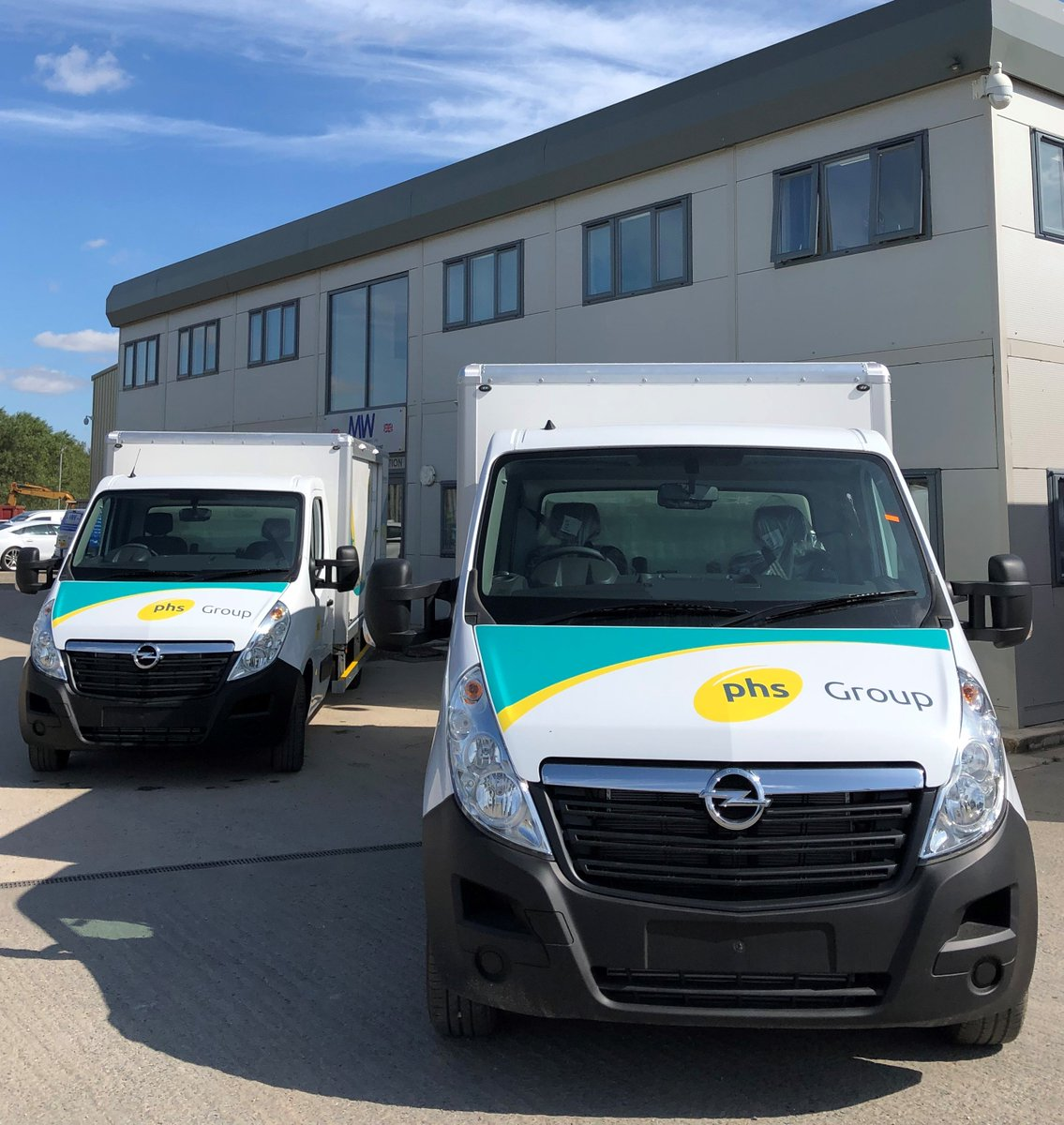 test Twitter Media - These ones are going to Ireland ☘️  3.5t Opel Movano 5 door washrooms for @phsgroup   With thanks to @PentagonDG   #PHS #Pentagon #WashRooms #Ireland #MWHull #Design #Build #Repair #Paint https://t.co/qNqQzu8aHQ