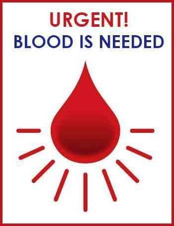 #Urgent_Accident_Case Blood Group: A +ve Blood Requirement: 1 pint whole blood & 3 pint PRPLocation: TU Teaching Hospital, Maharajgunj, KathmanduName of Patient: Bharat Adhikari (52)Contact: 9801056769 Please respond, blood is required for operation tomorrow.