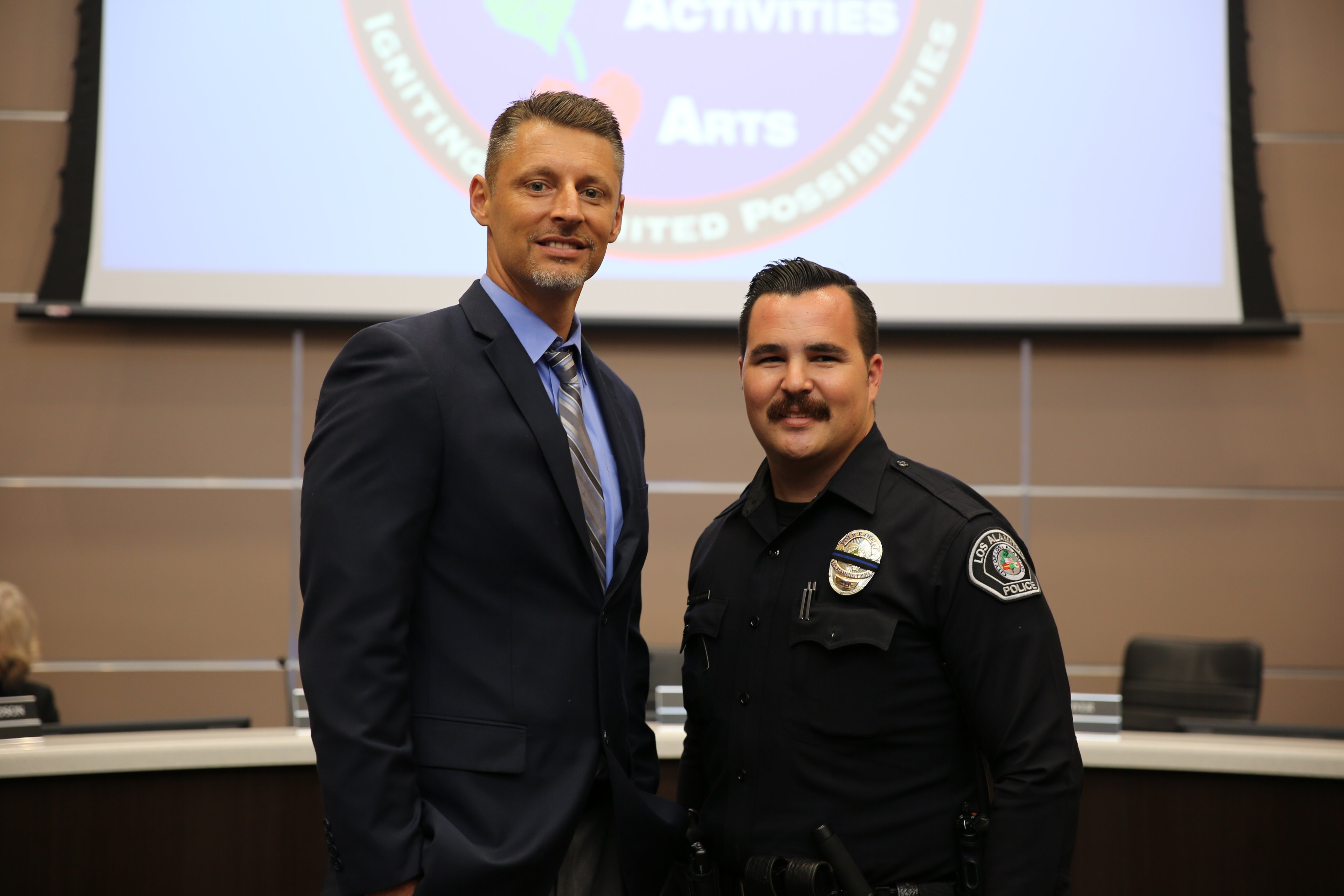 New Officer Assigned to Los Alamitos High School Campus