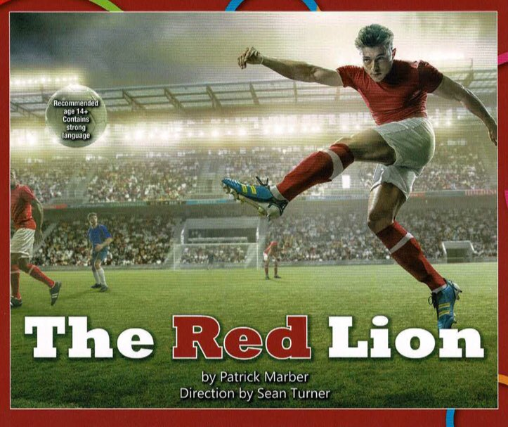 🔴🦁 TICKETS  Last chance to book your tickets for 'The Red Lion'!  The highly-acclaimed play is coming to The Camping World Community Stadium this Friday.  💛💚 #HorshamFC