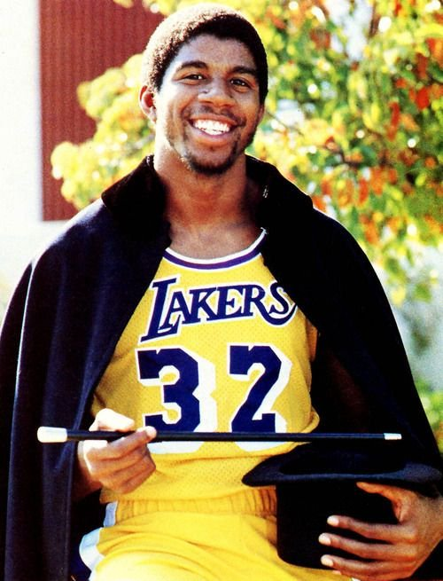 Magic Johnson's Rookie Season◾️ Starts in the All-Star game◾️ Wins Finals MVP◾️ Wins NBA Championship◾️ Averaged 18 PTS, 7.7 REB, 7.3 AST while playing with Kareem (24.8 PTS) & Norm Nixon (7.9 AST). Most people forget Nixon was the point guard on the Lakers.